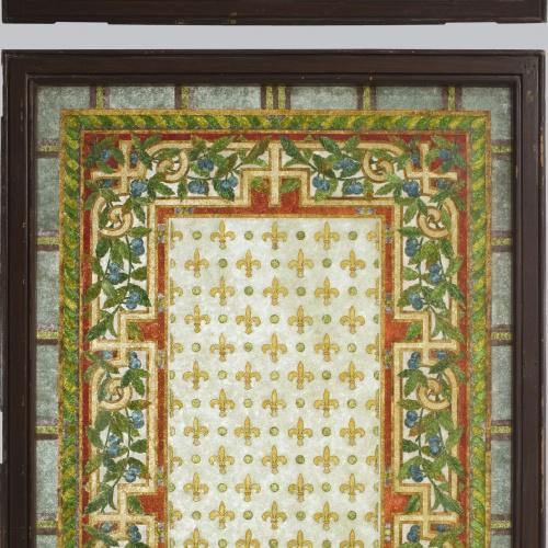 Frederic Vidal - Large window with transom  - Circa 1900