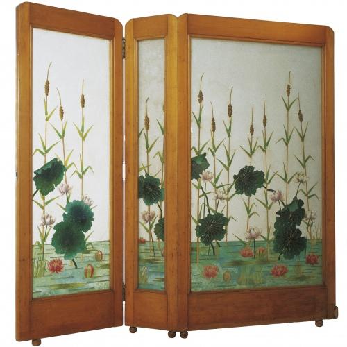 Frederic Vidal - Lily screen - 1899-1904