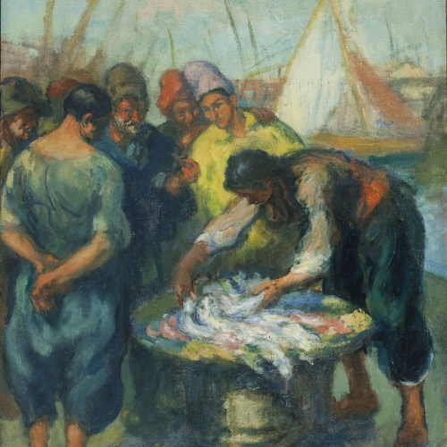 Ricard Canals - Fishmongers - Circa 1915
