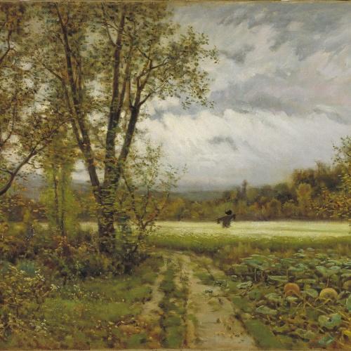 Joaquim Vayreda - L'espantaocells - Cap a 1883-1885