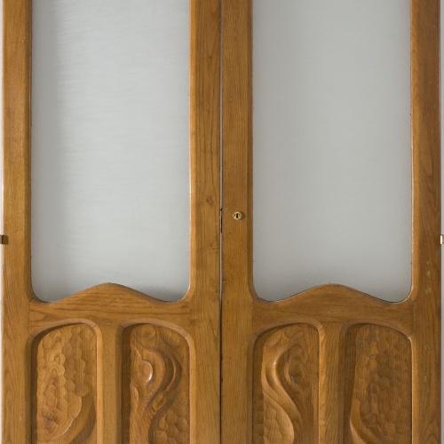 Antoni Gaudí - Porta vidriera de dos batents - 1906