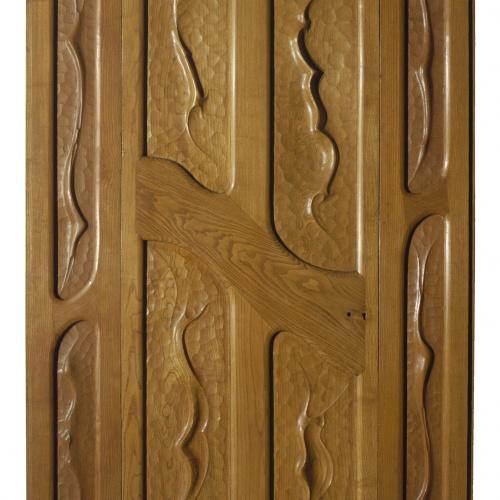 Antoni Gaudí - Door with two dust-shields - Circa 1906