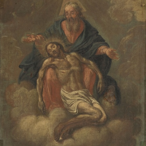Antoni Viladomat - Trinity - Between 1700-1750