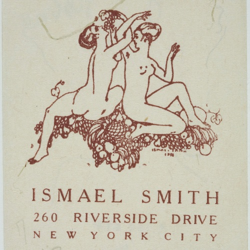 Ismael Smith - Ismael Smith (targeta de visita) - 1919