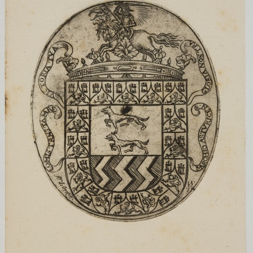 Alfonso de Orozco - Book-plate of the Marquis of Astorga - Last quarter of the 17th century