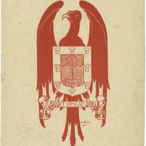 Alexandre de Riquer - Ex-libris sense títol [Ignasi de Janer] - 1902 [?]