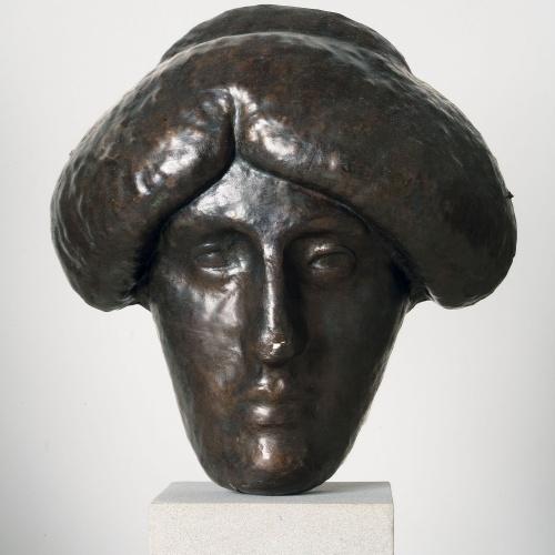 Juli González - Màscara de la cinta - Cap a 1914-1918