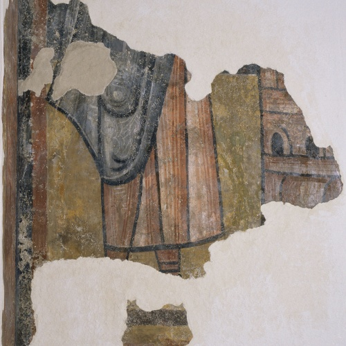 Mestre de Boí - Restes de figura i arquitectura de Boí - Cap a 1100