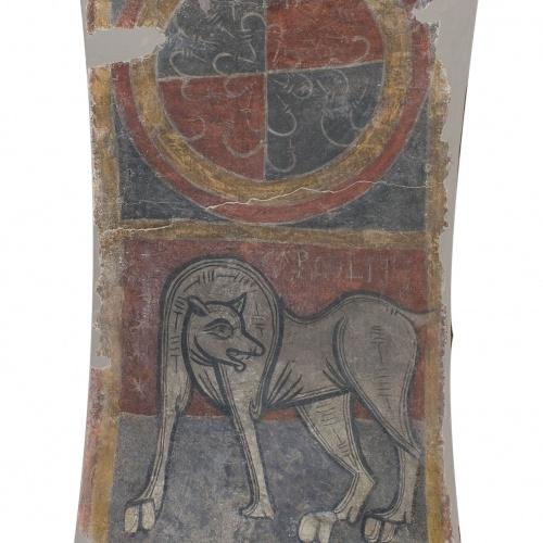 Mestre de Boí - CARCOLITI, elefant i lleó de Boí - Cap a 1100