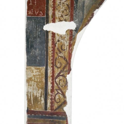 Mestre de Boí - Inscripció S(ANCTV)S MARTINVS de Boí - Cap a 1100