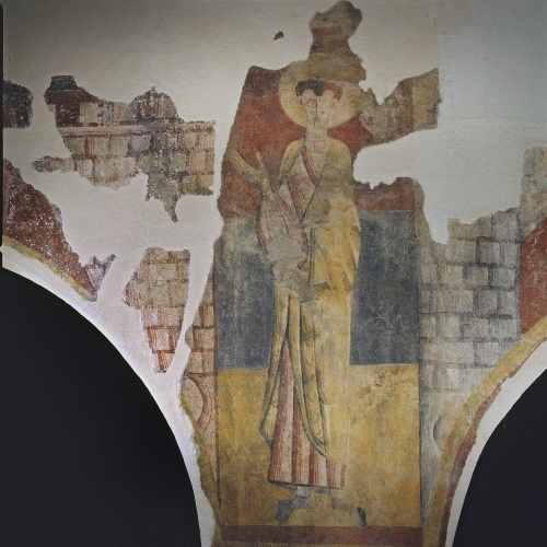 Mestre de Boí - Sant entre dues torres de Boí - Cap a 1100