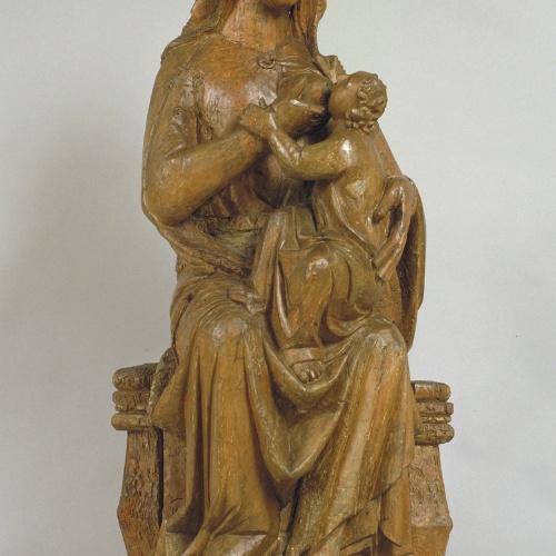 Anònim. Castella - Mare de Déu de la Llet - Segona meitat del segle XIV