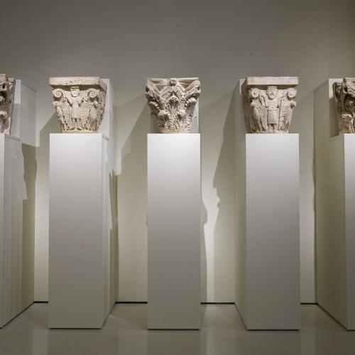 Anònim - Conjunt de capitells de Santa Maria de Besalú - Entre 1137 i 1167/1171