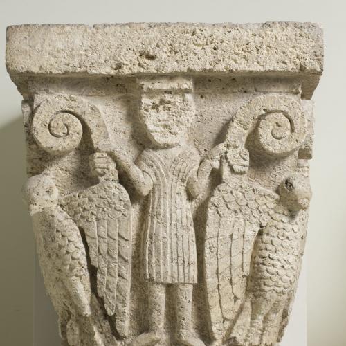 Anònim - Capitell de Santa Maria de Besalú - Entre 1137 i 1167/1171