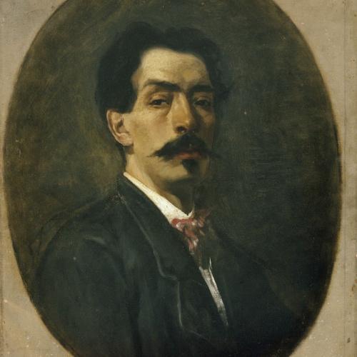 Joaquim Agrassot - Self-portrait - Circa 1885