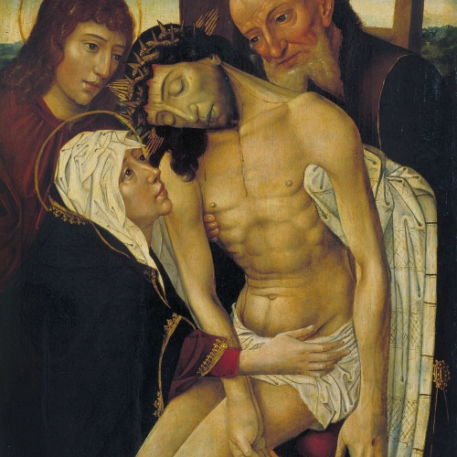 Anònim - Descent from the Cross - Second half of the 15th century - first half of the 16th century