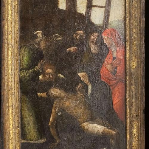 Antonio de Comontes - Plany sobre Crist mort - Entre 1515-1540