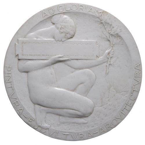Miquel Blay - Model per al revers d'una medalla - 1915