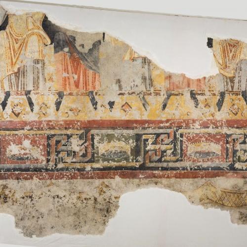 Mestre de Pedret - Fragment de profetes asseguts del Burgal - Finals del segle XI – inicis del segle XII