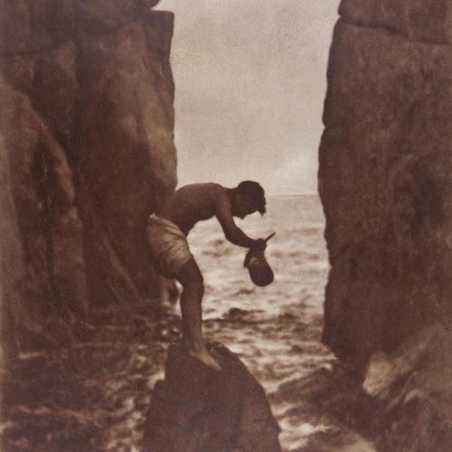 Joaquim Pla Janini - Pescador de mejillones (Mussels fisherman) - Undated
