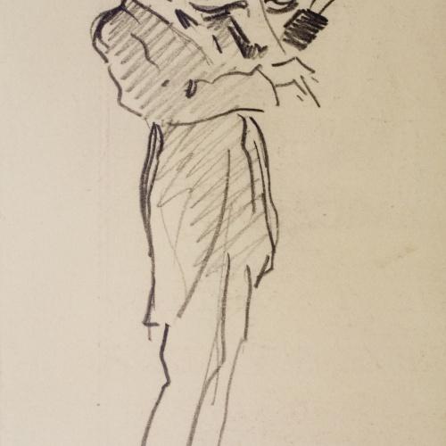 Joaquim Renart - The violinist Francesc Costa - March 8, 1926