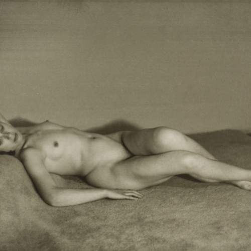 Otho Lloyd - Woman Lying - Circa 1946