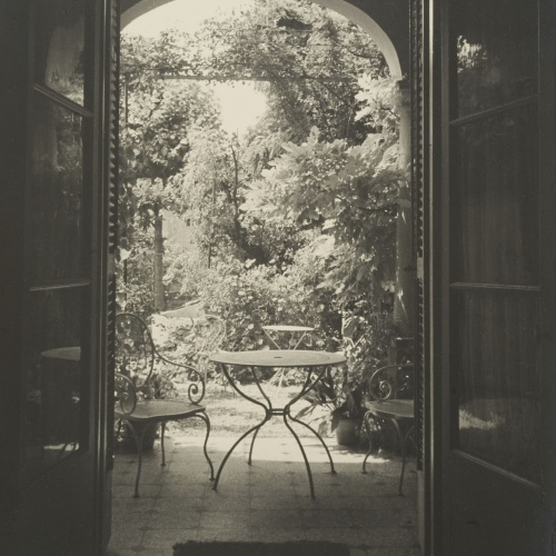 Otho Lloyd - House of the painter Josep Amat in the Carrer Jules Verne in Barcelona - Circa 1945