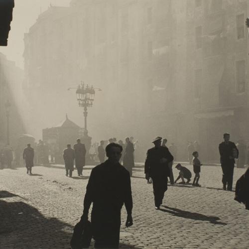 Otho Lloyd - Sant Agustí Vell Square - 1946