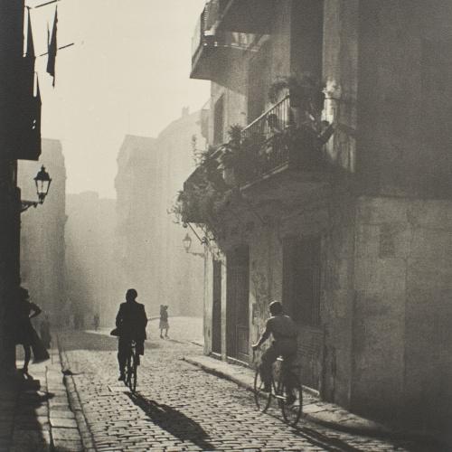 Otho Lloyd - Carrer Basses de Sant Pere, Barcelona - 1946