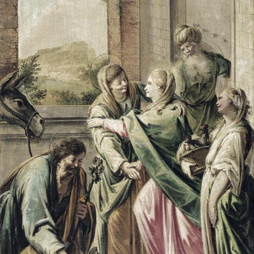 """Francesc Pla Duran dit """"El Vigatà"""" - Visitació - Cap a 1780"""