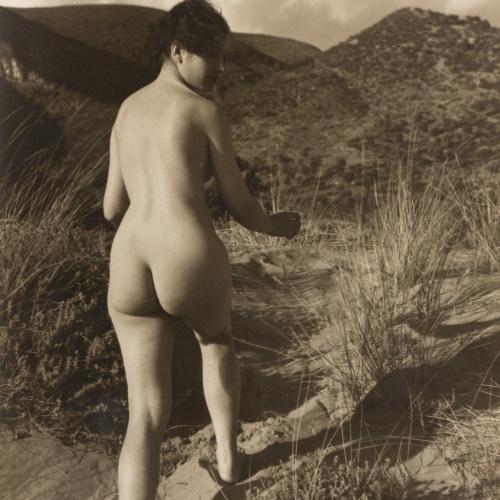 Otho Lloyd - Nu femení en un paisatge - Cap a 1944-1950