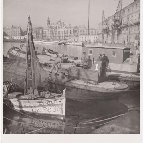 Otho Lloyd - Port de Barcelona - 1948