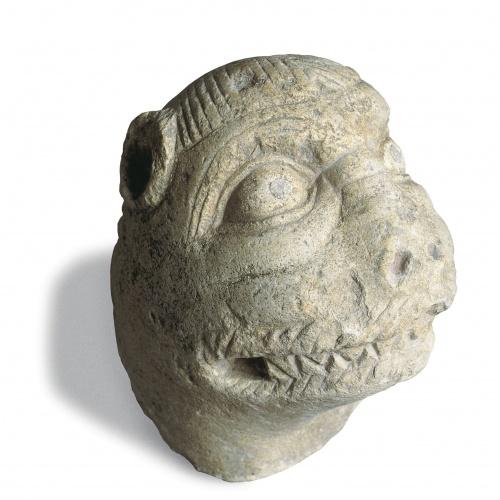 Anònim - Cap de lleó de Ripoll - Segon terç del segle XII
