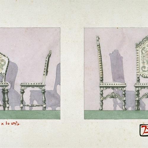 Joan Busquets - Cadires - 1902