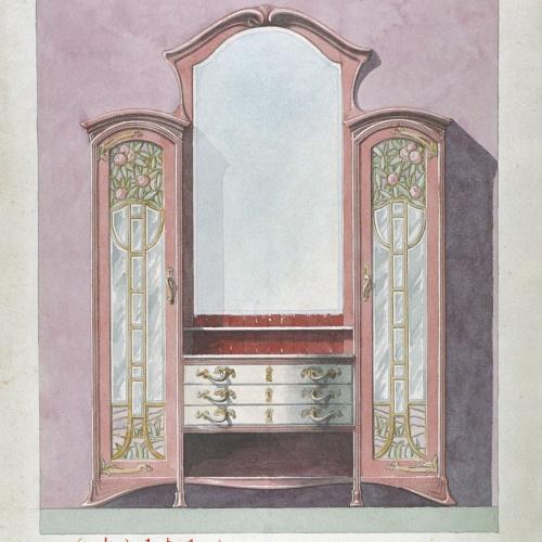 Joan Busquets - Bufet del menjador de la casa de Manuel Jové - 1903