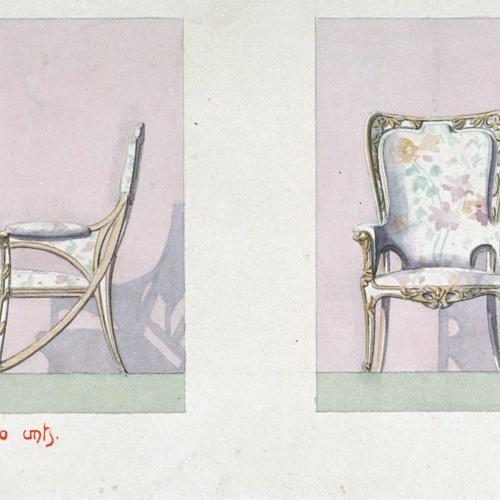 Joan Busquets - Cadires - 1903
