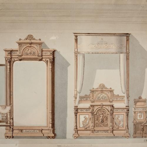 Joan Busquets - Dormitori - 1896