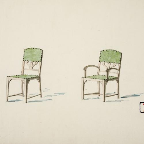 Joan Busquets - Cadira i butaca - 1899