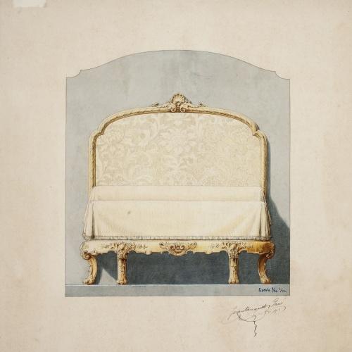 Joan Busquets - Llit - 1918