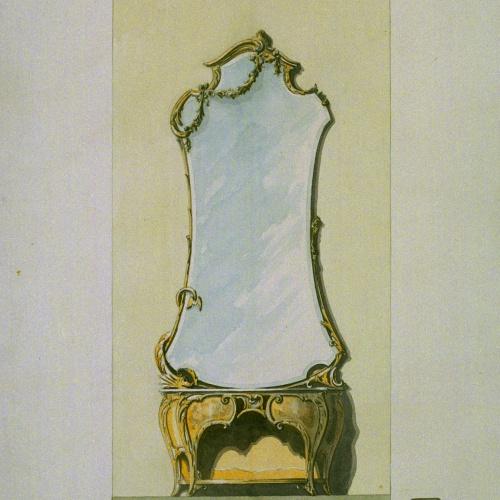 Joan Busquets - Consola amb mirall - 1903