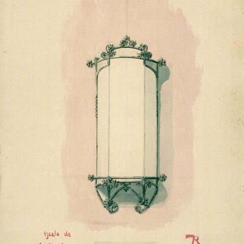 Joan Busquets - Mirall - 1903
