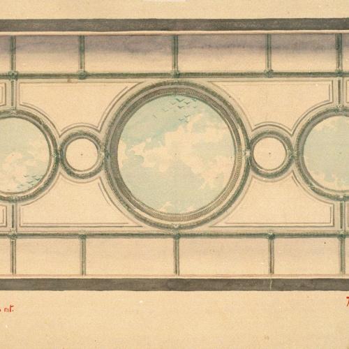 Joan Busquets - Ornamentación para un techo - 1904