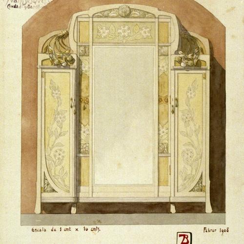 Joan Busquets - Armari - 1908