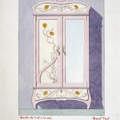 Joan Busquets - Armario - 1901