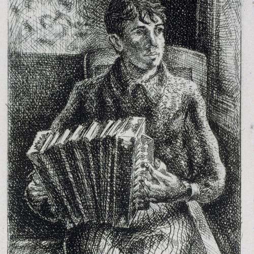 Gustavo Cochet - Noi tocant l'acordió - 1934-1945