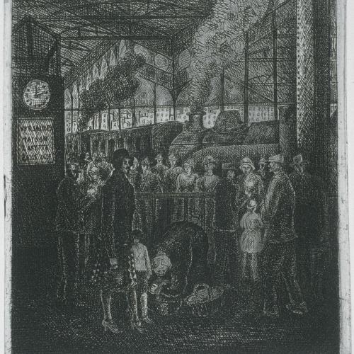 Gustavo Cochet - Gare Saint-Lazare (París) - 1926-1940