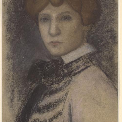 Juli González - Portrait of young woman - Between 1914-1918