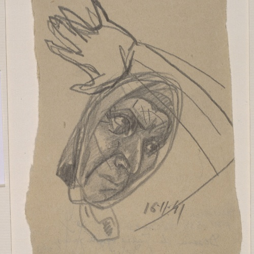 Juli González - La peur Nº 3 (La por, núm. 3) - 1941