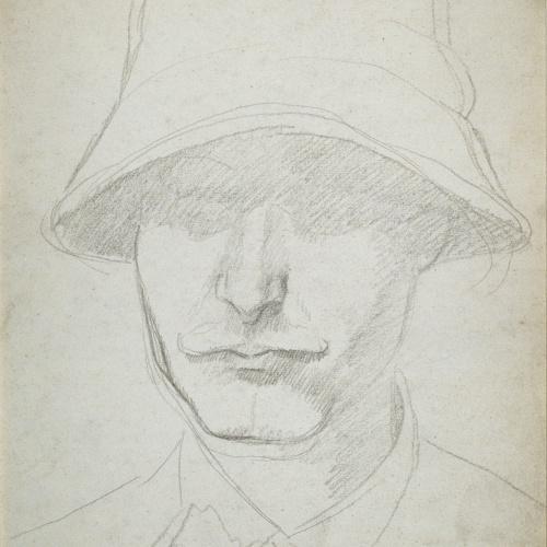 Juli González - Autoretrat (Auto-portrait) - Entre 1912-1917