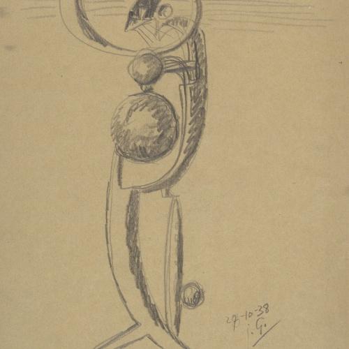 Juli González - Personatge amb tres boles - 1938